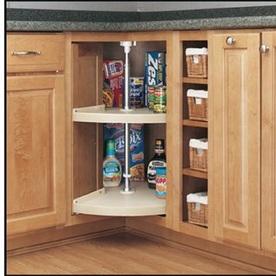 Shop Rev A Shelf 2 Tier Plastic Pie Cut Cabinet Lazy Susan