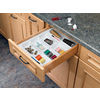 Rev-A-Shelf 21.75-in x 14.75-in Plastic Multi-Use Insert Drawer Organizer