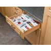 Rev-A-Shelf 21-in x 21.75-in Plastic Multi-Use Insert Drawer Organizer