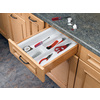 Rev-A-Shelf 21.25-in x 11.5-in Plastic Multi-Use Insert Drawer Organizer
