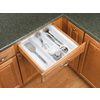 Rev-A-Shelf 21.25-in x 21.87-in Plastic Multi-Use Insert Drawer Organizer