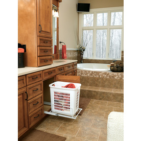 Rev-A-Shelf Mixed Material Clothes Hamper