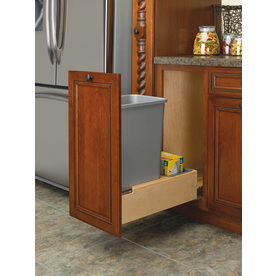 Rev-A-Shelf 50-Quart Plastic Pull Out Trash Can