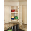 Rev-A-Shelf 2-Tier Wood Full Circle Cabinet Lazy Susan