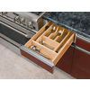 Rev-A-Shelf 22-in x 14.62-in Wood Cutlery Insert Drawer Organizer