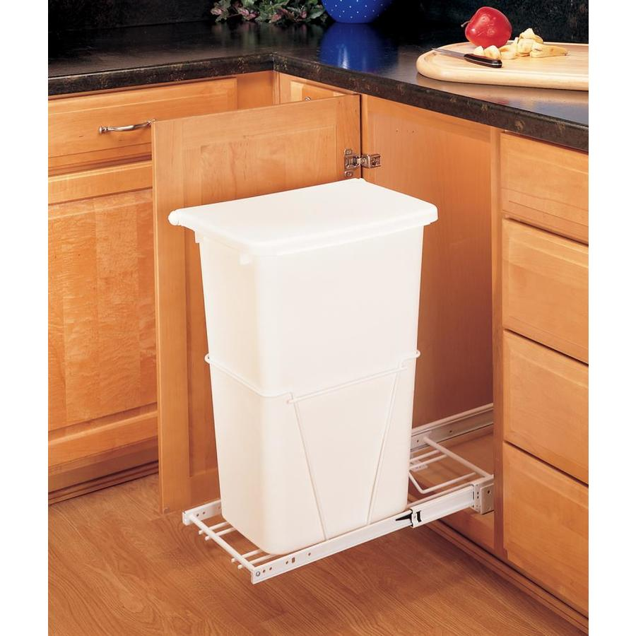 shop rev a shelf 50 quart plastic pull out trash can at. Black Bedroom Furniture Sets. Home Design Ideas