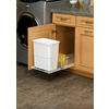 Rev-A-Shelf 20 Quart Plastic Pull Out Trash Can