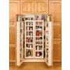 Rev-A-Shelf 12-in W x 7.5-in D x 25-in H 1-Tier Wood Pull Out Cabinet Basket