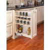 Rev-A-Shelf 9-in W x 23-in D x 30-in H 4-Tier Wood Pull Out Cabinet Basket