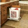 Rev-A-Shelf 6-in W x 23-in D x 30-in H 1-Tier Wood Pull Out Cabinet Basket