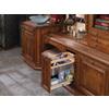Rev-A-Shelf 8-in W x 19-in D x 20.25-in H 1-Tier Wood Pull Out Cabinet Basket