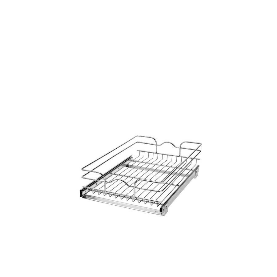 shop rev a shelf w x 22 in d x 7 in h 1 tier. Black Bedroom Furniture Sets. Home Design Ideas