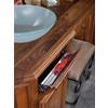Rev-A-Shelf 10-in W x 2.12-in D x 3-in H 1-Tier Metal Pull Out Cabinet Basket