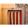 Rev-A-Shelf Chrome Tie/Scarf Rack