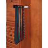 Rev-A-Shelf Black Side Mount Tie Rack