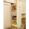 Rev-A-Shelf 6-in W x 11.13-in D x 39-in H 4-Tier Wood Pull Out Cabinet Basket