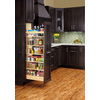 Rev-A-Shelf 5-in W x 1-ft 10-in D x 5-ft 6.88-in H 1-Tier Wood Pull Out Cabinet Basket