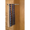 Rev-A-Shelf Satin Nickel Pull-Out Tie Rack