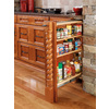 Rev-A-Shelf 6-in W x 23-in D x 30-in H 4-Tier Wood Pull Out Cabinet Basket