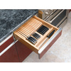 Rev-A-Shelf 22-in x 18.5-in Wood Cutlery Insert Drawer Organizer