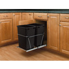Rev-A-Shelf 35 Quart Plastic Pull Out Trash Can