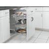 Rev-A-Shelf 16.75-in W x 20-in D x 26.38-in H 3-Tier Metal Pull Out Cabinet Basket