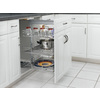 Rev-A-Shelf 20.62-in W x 20-in D x 26.38-in H 3-Tier Metal Pull Out Cabinet Basket