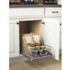 Rev-A-Shelf 14.38-in W x 22-in D x 7-in H 1-Tier Metal Pull Out Cabinet Basket