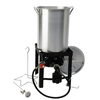 Kamp Kitchen 30-Quart 20-lb Cylinder Manual Ignition Gas Fryer