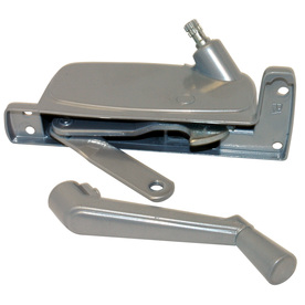 Shop Barton Kramer 5 1 4 In Silver Coated Aluminum Awning