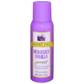 California Scents Monterey Vanilla Air Freshener Spray