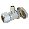 EASTMAN 3/8-in Bronze Compression In-Line Angle Valve