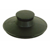 EASTMAN Universal Fit Black Pop-Up Drain Stopper