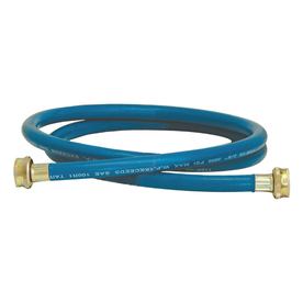 EASTMAN 6-ft 1200 PSI Rubber Washing Machine Connector
