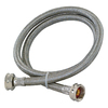 EASTMAN 4-ft 1800 PSI Stainless Steel Washing Machine Connector