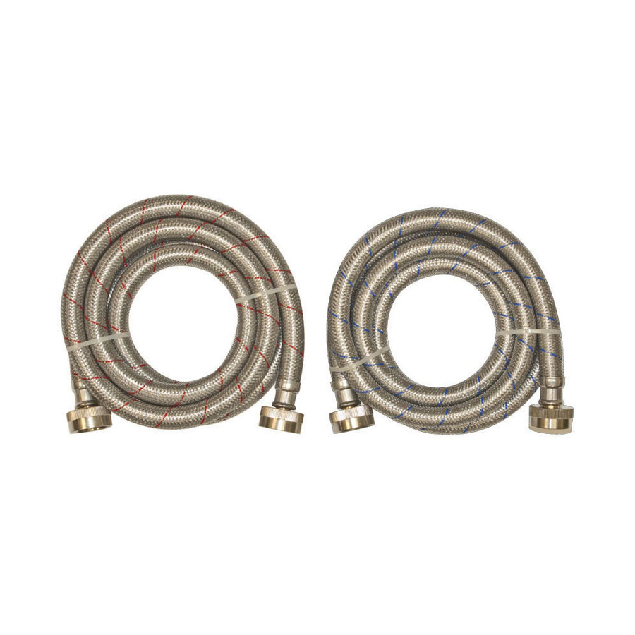 2 upgrade stnless washer hose