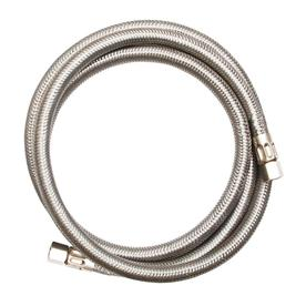 EASTMAN 5-ft 1800-PSI Stainless Steel Ice Maker Connector 98516
