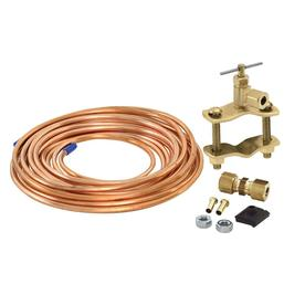 EASTMAN 15-ft 200 PSI Corrugated PVC Ice Maker Installation Kit