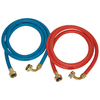 EASTMAN 2-Pack 72-in 800 PSI Rubber Washing Machine Connector