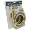 EASTMAN 2-Pack 6 800-PSI Stainless Steel Washing Machine Connector