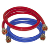 EASTMAN 2-Pack 6-ft 800-PSI PVC Washing Machine Connectors