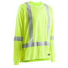 BERNE APPAREL Large-Long Safety Yellow High Visibility (Ansi Compliant) Enhanced Visibility (Reflective) T-Shirt