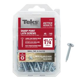 Teks 140-Pack #8 x 1-1/4-in Roofing Screws