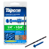 Tapcon 75-Count 1/4-in x 1-3/4-in Concrete Screws