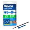 Tapcon 75-Count 1/4-in x 2-1/4-in Concrete Screws