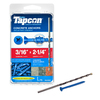 Tapcon 75-Count 3/16-in x 2-1/4-in Concrete Screws