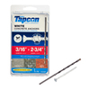 Tapcon 75-Count 3/16-in x 2-3/4-in White Concrete Screws