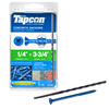 Tapcon 75-Count 1/4-in x 3-3/4-in Concrete Screws
