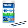 Tapcon 75-Count 1/4-in x 3-3/4-in Concrete Screws