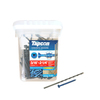 Tapcon 225-Count 3/16-in x 2.25-in Blue Steel Self-Tapping Concrete Screw
